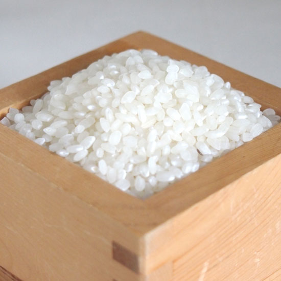 彩のきずな 升に入れたお米