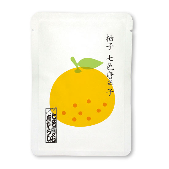 七色唐辛子 柚子