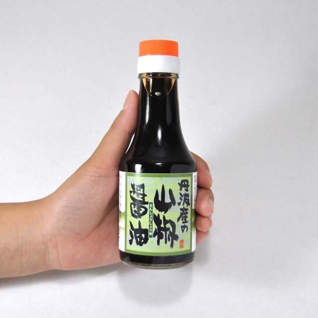 山椒醤油のサイズ感