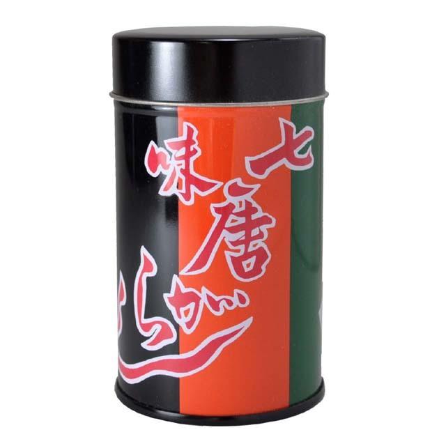 七色唐辛子 缶入り(大