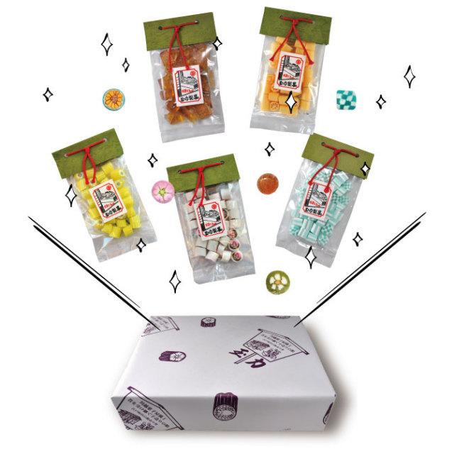 玉力製菓ギフトボックス