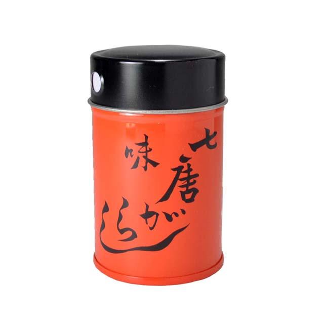 七色唐辛子 缶入り(中)