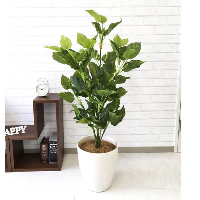 【PG093 フレッシュポトス H110cm / ポリプロピレン鉢】人工観葉植物 造花 フェイクグリーンインテリア アーティフィシャルグリーン