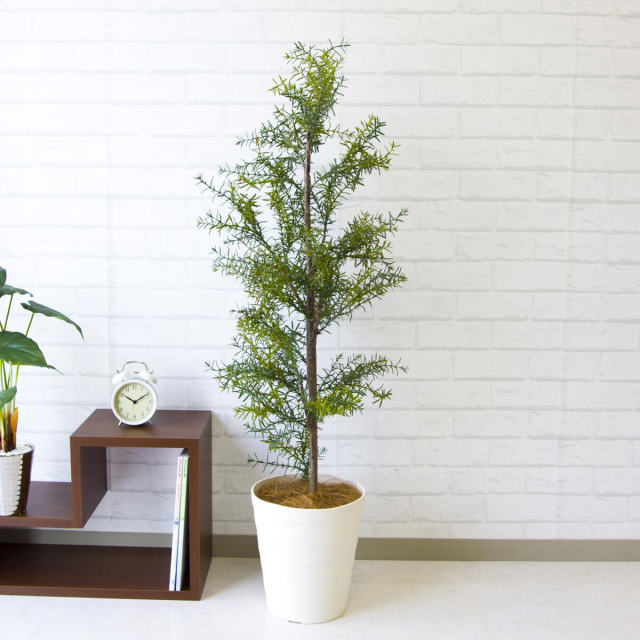 【PG104 ローズマリー H120cm / ポリプロピレン鉢】人工観葉植物 造花 フェイクグリーンインテリア アーティフィシャルグリーン