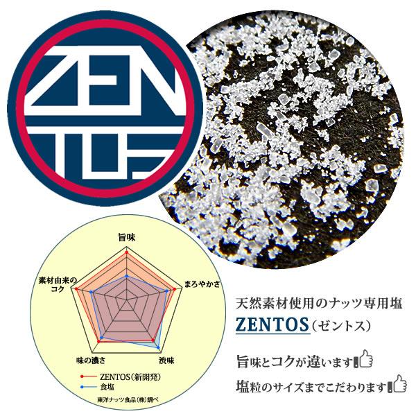 ZENTOS ナッツ専用 塩