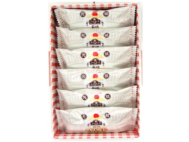 長崎ミルクセーキ(風味)サンドクッキー6ヶ入