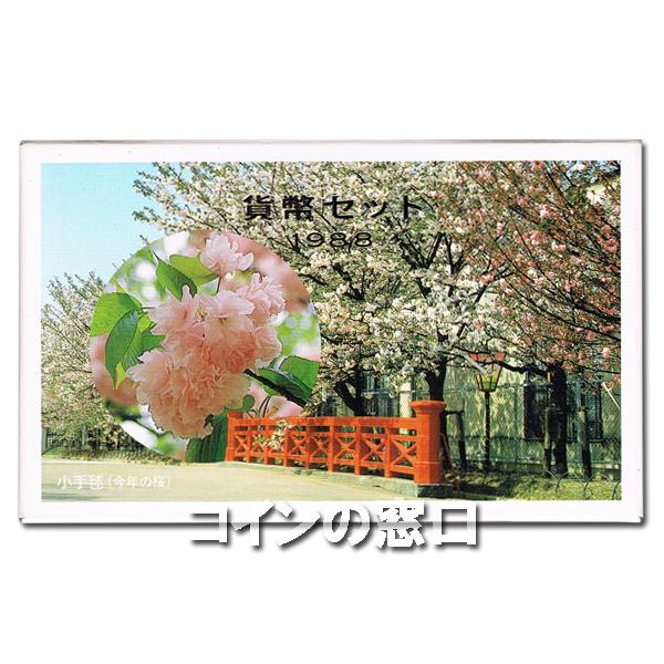 1988年桜の通り抜けミントセット
