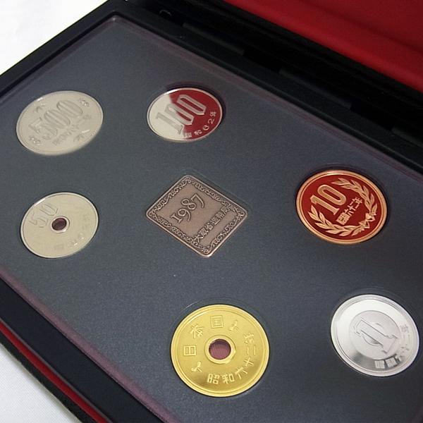 1987年通常プルーフ貨幣セット