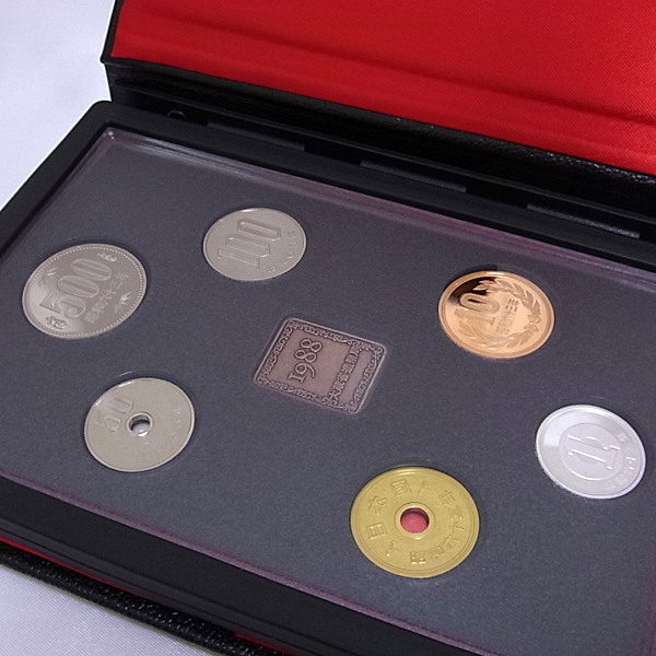 1988年通常プルーフ貨幣セット
