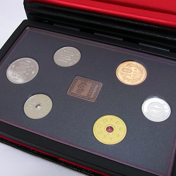 1989年通常プルーフ貨幣セット