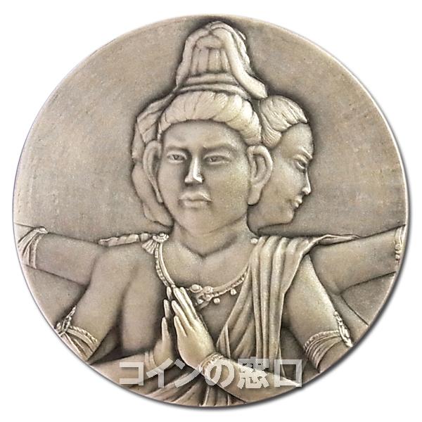 国宝章牌 『興福寺』純銀メダル