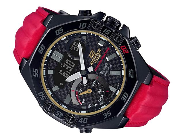 カシオ 腕時計 エディフィス ECB-10HR-1AJR Honda Racing 限定モデル スマートフォンリンク
