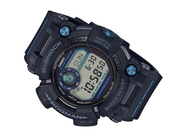 カシオ 腕時計 G-SHOCK GWF-D1000B-1JF フロッグマン