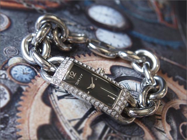 DKNY ダナキャランニューヨーク 腕時計 NY3663 メタルベルト