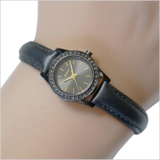DKNY ダナキャランニューヨーク 腕時計 NY8695 レザーベルト