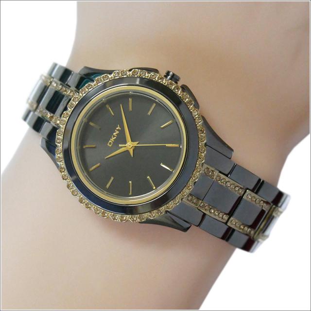 DKNY ダナキャランニューヨーク 腕時計 NY8700 メタルベルト