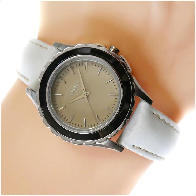DKNY ダナキャランニューヨーク 腕時計 NY8770 レザーベルト