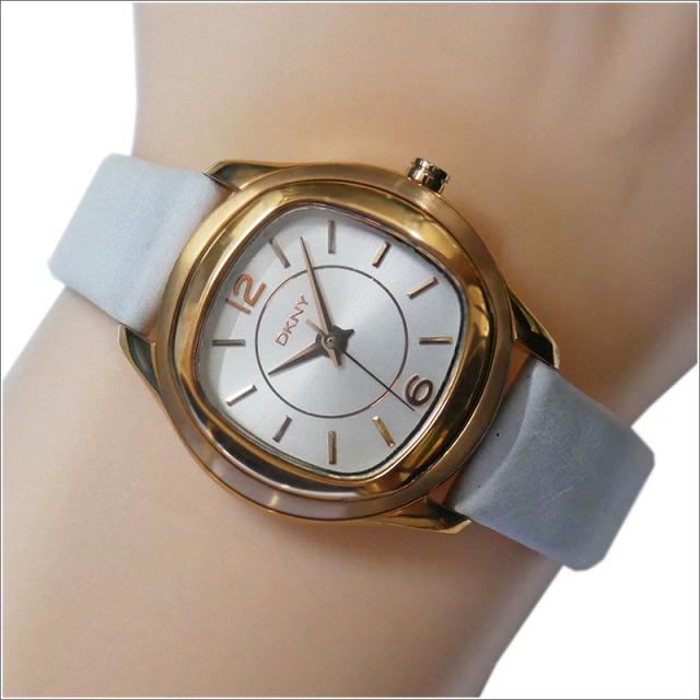 DKNY ダナキャランニューヨーク 腕時計 NY8808 レザーベルト