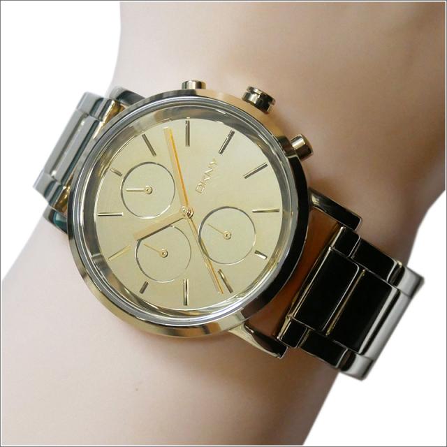 DKNY ダナキャランニューヨーク 腕時計 NY8861 メタルベルト