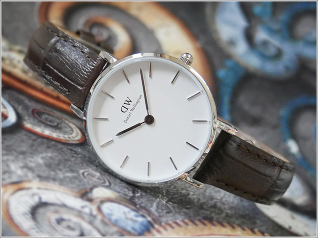 ダニエル ウェリントン DANIEL WELLINGTON 腕時計 DW00100244 DW00600244 シルバー 28mm PETITE YORK ペティット ヨーク