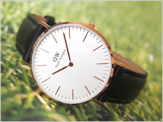 ダニエル ウェリントン DANIEL WELLINGTON 腕時計 DW00100007 DW00600007 ローズゴールド 40mm CLASSIC SHEFFIELD クラシック シェフィールド 0107DW