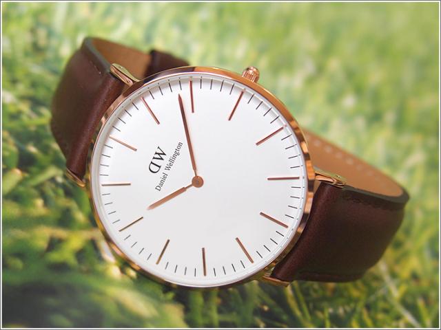 ダニエル ウェリントン DANIEL WELLINGTON 腕時計 DW00100009 DW00600009 ローズゴールド 40mm CLASSIC BRISTOL クラシック ブリストル 0109DW