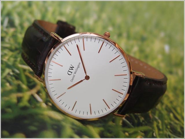 ダニエル ウェリントン DANIEL WELLINGTON 腕時計 DW00100011 DW00600011 ローズゴールド 40mm CLASSIC YORK クラシック ヨーク