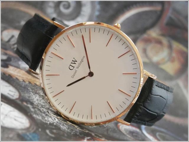 ダニエル ウェリントン DANIEL WELLINGTON 腕時計 DW00100014 DW00600014 ローズゴールド 40mm CLASSIC READING クラシック リーディング