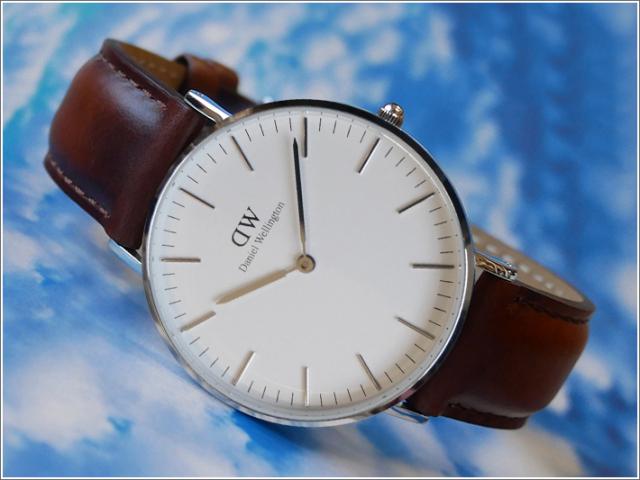 ダニエル ウェリントン DANIEL WELLINGTON 腕時計 DW00100052 DW00600052 シルバー 36mm CLASSIC ST MAWS クラシック セントモース
