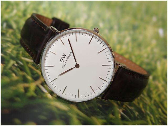 ダニエル ウェリントン DANIEL WELLINGTON 腕時計 DW00100055 DW00600055 シルバー 36mm CLASSIC YORK クラシック ヨーク