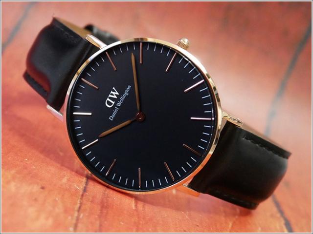 ダニエル ウェリントン DANIEL WELLINGTON 腕時計 DW00100139 DW00600139 ローズゴールド 36mm CLASSIC SHEFFIELD クラシック シェフィールド