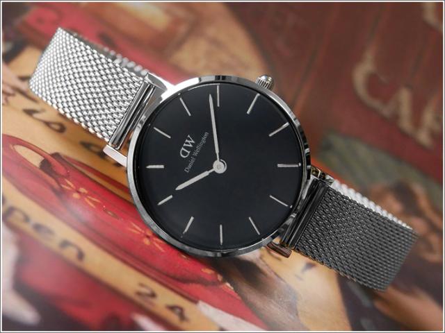 ダニエル ウェリントン DANIEL WELLINGTON 腕時計 DW00100218 DW00600218 シルバー 28mm CLASSIC PETITE STERLING クラシック プチ スターリング