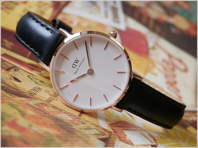 ダニエル ウェリントン DANIEL WELLINGTON 腕時計 DW00100230 DW00600230 ローズゴールド 28mm CLASSIC PETITE ST MAWES クラシック プチ セントモース