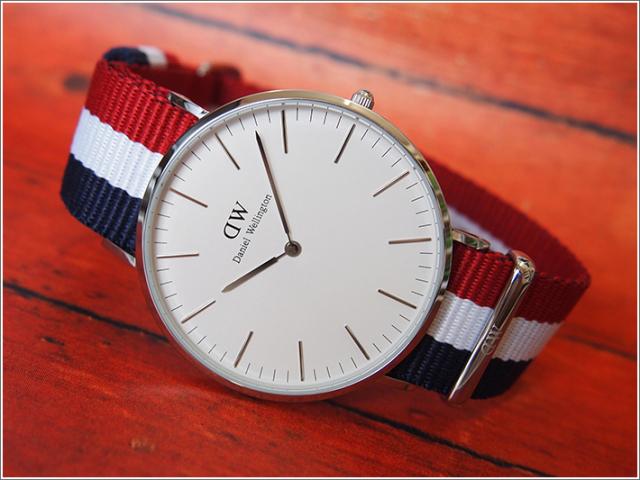 ダニエル ウェリントン DANIEL WELLINGTON 腕時計 DW00100017 DW00600017 シルバー 40mm CLASSIC CAMBRIDGE クラシック ケンブリッジ 0203DW