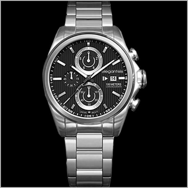 エレガントシス elegantsis 腕時計 ELJT42R-6B01MA レーシングスタイル スーパーバイクモデル