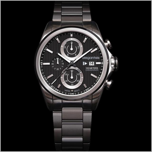 エレガントシス elegantsis 腕時計 ELJT42R-6B07MA レーシングスタイル スーパーバイクモデル