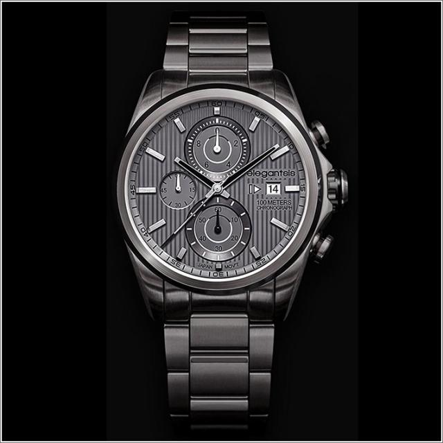 エレガントシス elegantsis 腕時計 ELJT42R-6G05MA レーシングスタイル スーパーバイクモデル