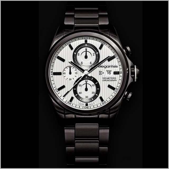 エレガントシス elegantsis 腕時計 ELJT42R-6W06MA レーシングスタイル スーパーバイクモデル