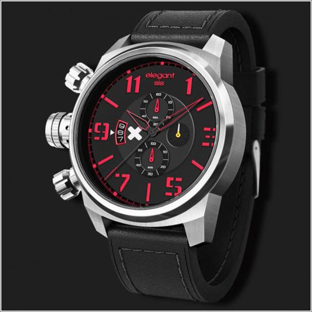 エレガントシス elegantsis 腕時計 ELJT48-OG10LC ミリタリースタイル 従軍看護師モデル