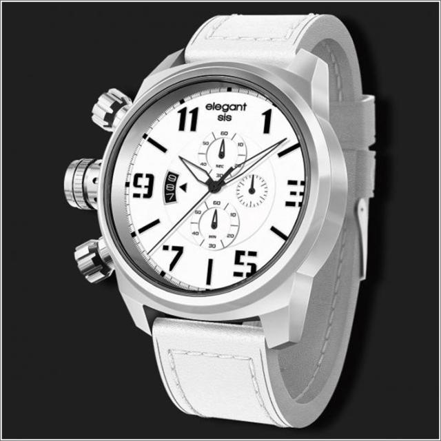 エレガントシス elegantsis 腕時計 ELJT48-OW11LC ミリタリースタイル