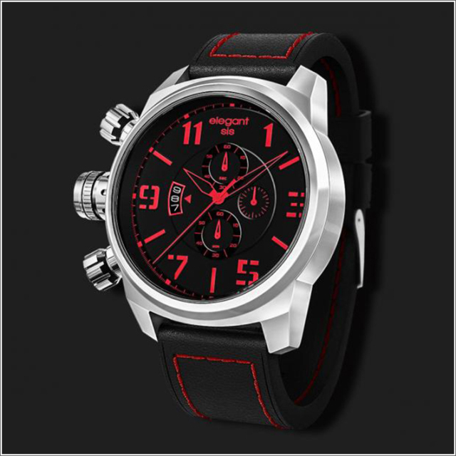 エレガントシス elegantsis 腕時計 ELJT48S-OB01LC ミリタリースタイル レディースモデル