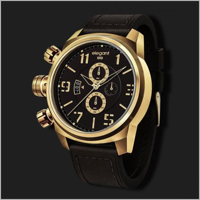 エレガントシス elegantsis 腕時計 ELJT48S-OB08LC ミリタリースタイル レディースモデル