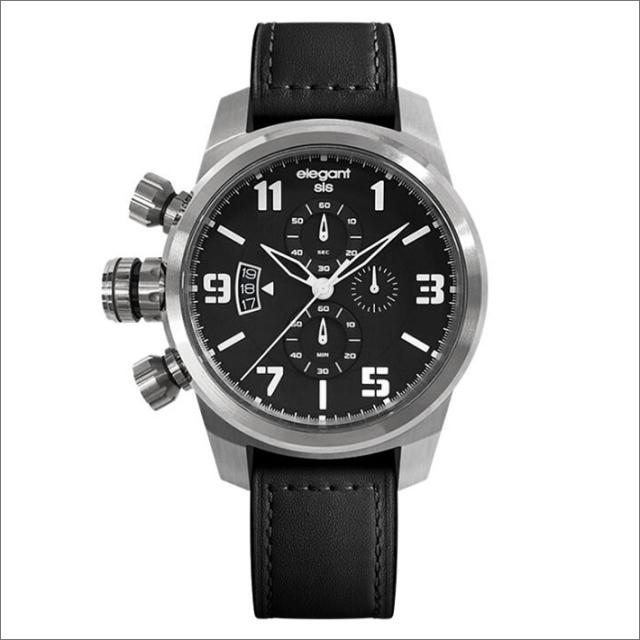 エレガントシス elegantsis 腕時計 ELJT48S-OB09LC ミリタリースタイル レディースモデル