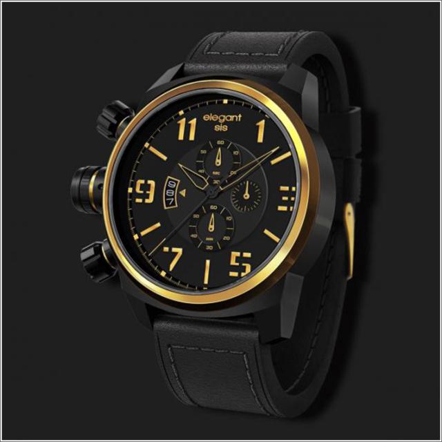 エレガントシス elegantsis 腕時計 ELJT48S-OG07LC ミリタリースタイル レディースモデル