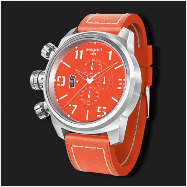 エレガントシス elegantsis 腕時計 ELJT48S-OO04LC ミリタリースタイル レディースモデル
