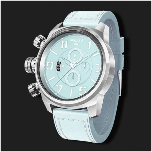 エレガントシス elegantsis 腕時計 ELJT48S-OU05LC ミリタリースタイル レディースモデル