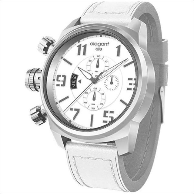 エレガントシス elegantsis 腕時計 ELJT48S-OW02LC ミリタリースタイル レディースモデル