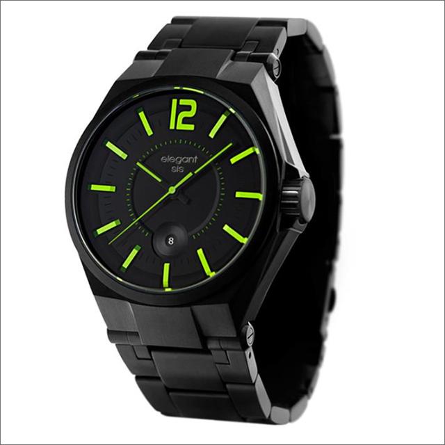 エレガントシス elegantsis 腕時計 ELJT61-2G03MA メタルベルト