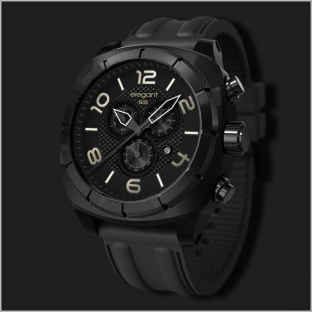 エレガントシス elegantsis 腕時計 ELJT66-FB01LC スポーツスタイル サーファーモデル