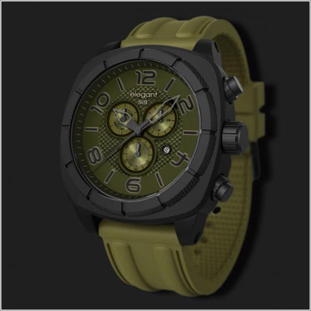エレガントシス elegantsis 腕時計 ELJT66-FG02LC スポーツスタイル サーファーモデル